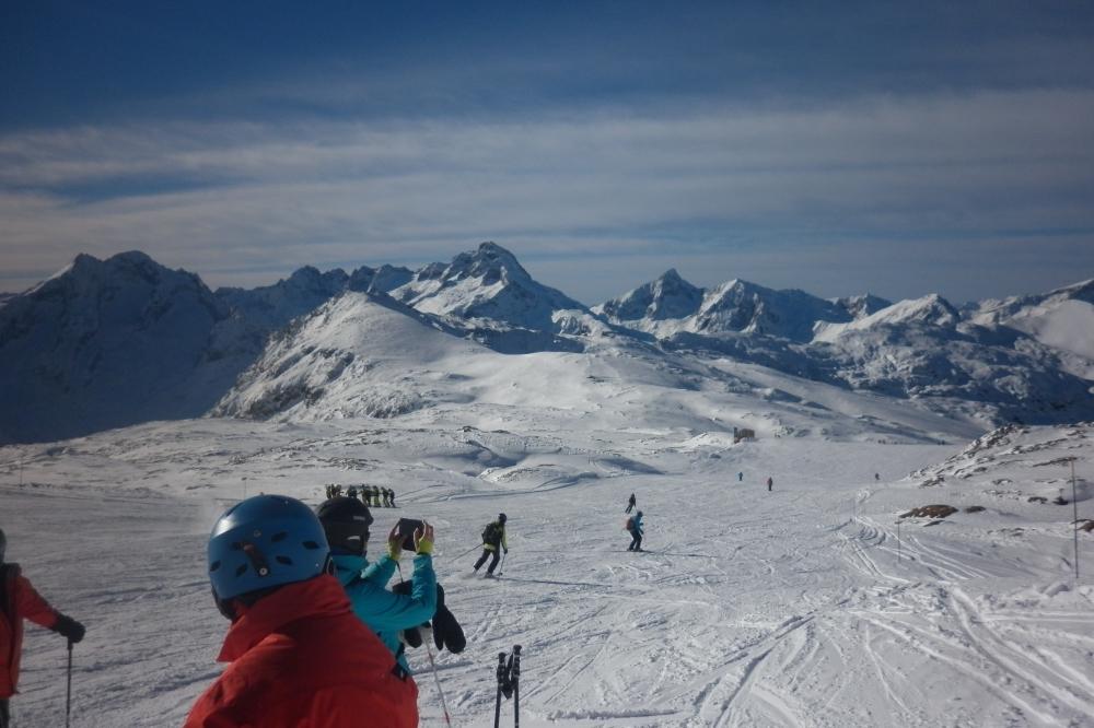 Ouverture de la saison 2019/2020 ski alpin aux  2 Alpes