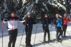 Sortie ski de fond